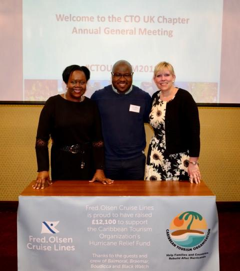 Fred. Olsen Cruise Lines' guests raise nearly £25,000 to support Caribbean hurricane relief effort