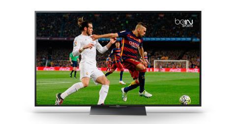 LaLiga y la UEFA Champions League,  en los televisores Sony con beIN CONNECT