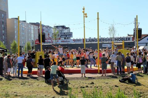 Nu dansar vi in Göteborgs nya dansbana