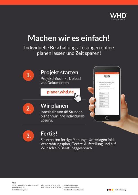 WHD-Projektplaner