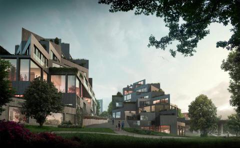 Parkhusen:  Arkitektkontor: Utopia / Rosenbergs Arkitekter