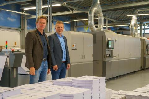 Zalsman utvider kapasiteten med Europas første Ricoh ProTM VC70000