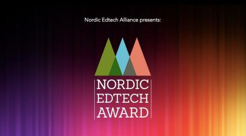 Announcing the finalists for the Nordic Edtech Award 2019