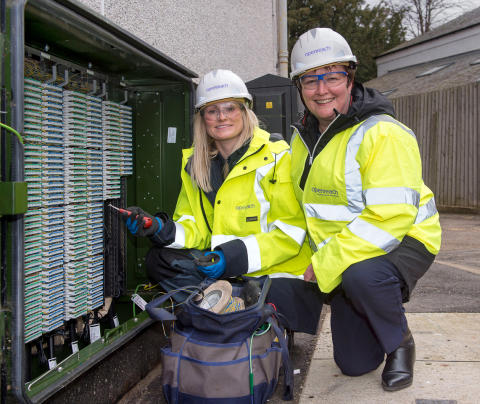 Rhoda Grant MSP connects with high-speed broadband