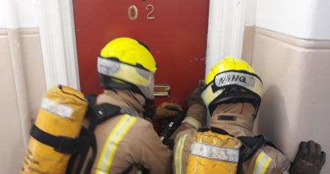 ng homes facilitate essential SFRS training in North Glasgow