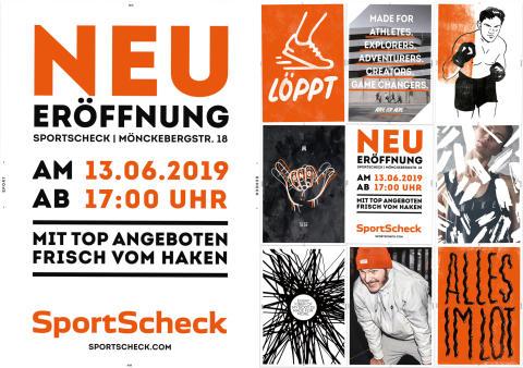 SportScheck Hamburg startet mit großem Aktionsprogramm in die Wiedereröffnung: Die ersten 300 Kunden erhalten hochwertige Kopfhörer