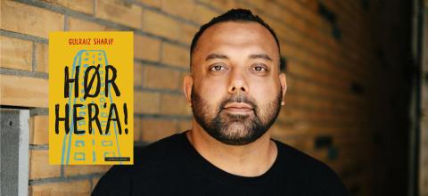 Gulraiz Sharifs debutbok Hør her'a! er vinner av Kulturdepartementets Debutantpris for barne- og ungdomslitteratur