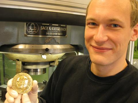 Nobelmedaljen med Bjørn Kjetil Bergerud