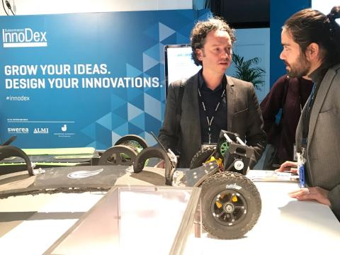 Audi och Volvo letade material på innoDex