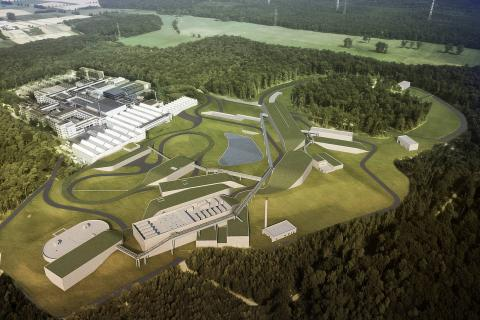 FAIR particle accelerator facility:  € 220 million contract for ZÜBLIN and STRABAG in Germany