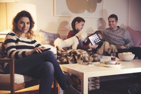 Nu kan invånare i Skellefteå kommun få tv, bredband och telefoni från Telia via Skellefteå Kraft