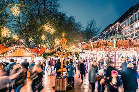 Kieler Weihnachtsmarkt - Holstenplatz