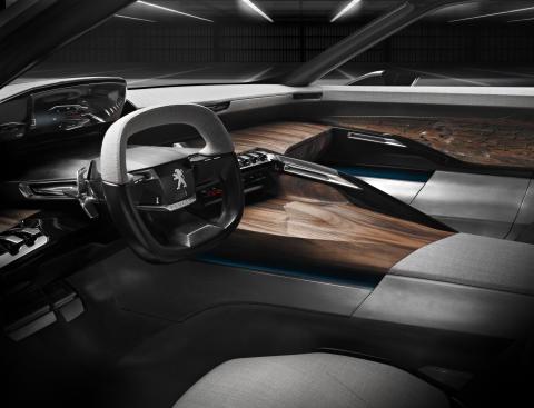 Peugeot Exalt konceptbil interiör_förare