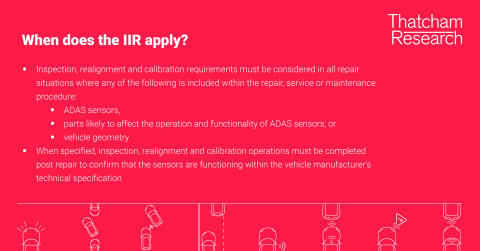 When does the IIR apply?