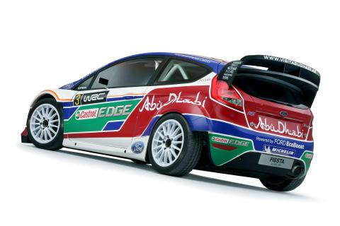 Fords helt nya rallybil, Fiesta RS World Rally Car premiärvisas - bild 2