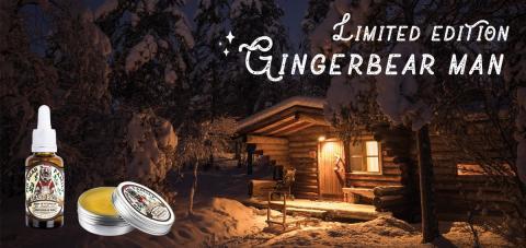 Skäggolja med doft av pepparkaka i Limited Edition från Mr Bear Family!