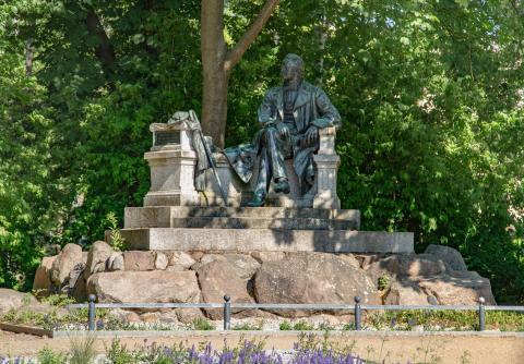Fontanedenkmal in Neuruppin