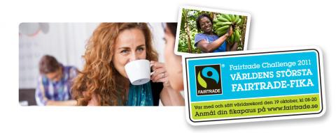 Fairtrade Challenge – Värmlänningar deltar i världsrekordförsök