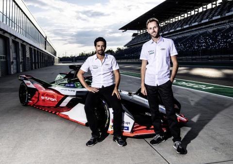 Lucas di Grassi och René Rast kör för Audi i nästa års VM-klassade Formel E