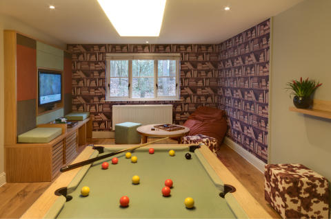 Exclusive Lodge Games Room