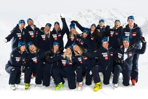 Mix Megapol blir mediapartner till Ski Team Sweden Alpine