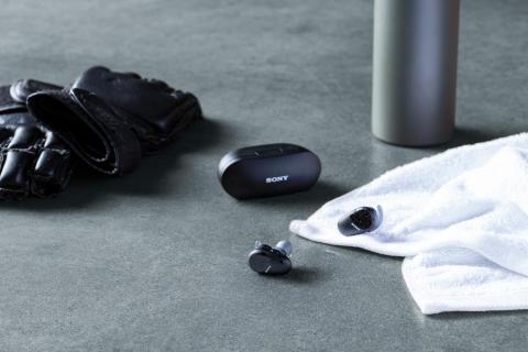 Sony lancerer nye true wireless-hovedtelefoner til den aktive livsstil: WF-SP800N
