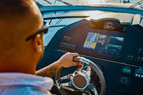 Das erste intelligente Kamerasystem für den maritimen Markt:  Mit dem Garmin Surround View Marinekamera-System nichts mehr dem Zufall überlassen