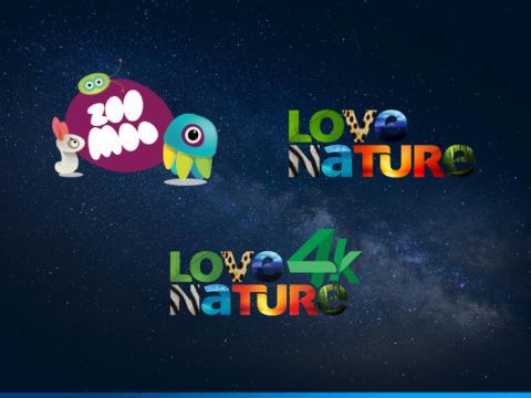 Eutelsat, Blue Ant Media, und iKO Media Group verbreiten partnerschaftlich ZooMoo HD, Love Nature HD und Love Nature 4K