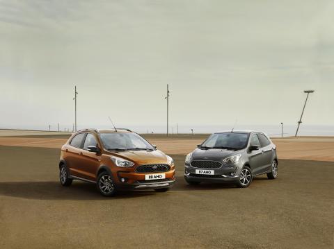 Nová modelová řada Ford KA+ se rozrůstá o crossover Active, inspirovaný vozy SUV
