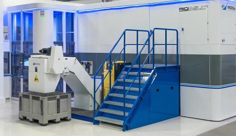 Besök hos VK-mekaniska och Modig Machine Tool