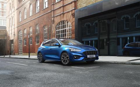 Ford Focus EcoBoost hybrid 2020