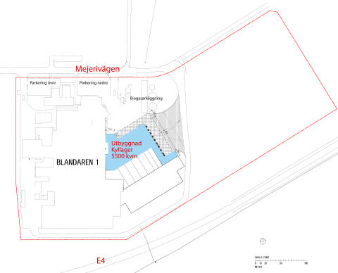Norrmejerier bygger nytt kyllager vid Umeå mejeri
