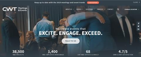 CWT Meetings & Events launches rebrand with fresh logo and new global website