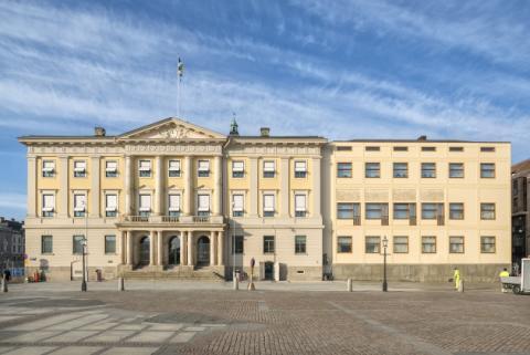 Nu startar Visning av Asplunds tillbyggnad av Rådhuset igen!