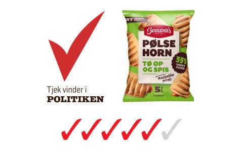 Beauvais Pølsehorn vinder Politikens smagstest