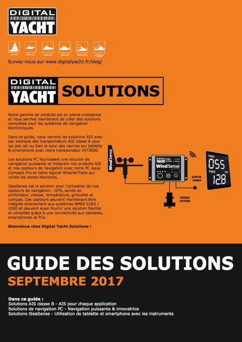 Découvrez notre nouvelle gamme de produits : Digital Yacht Solutions