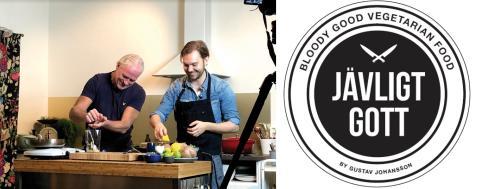 Sveriges nya veganska matlagningsprogram är här! Jävligt Gott möter… Glenn Hysén.