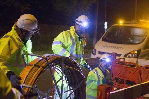 Openreach roadworks to get under way in Coatbridge