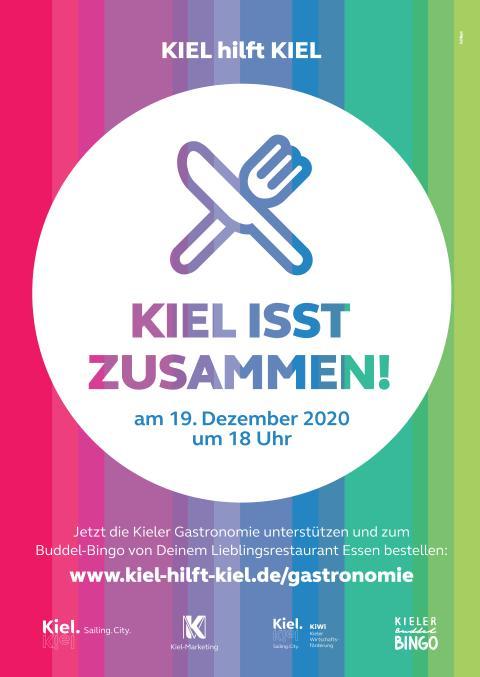 Kiel isst zusammen Plakat