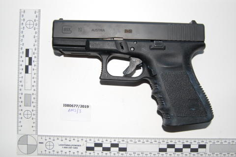 DNA evidence helps convict two people for firearms offences