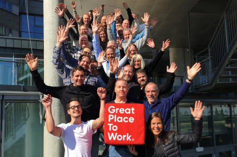 Great Place to Work-sertifisert for fjerde gang!