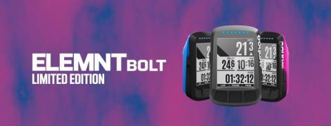 Wahoo lanserar begränsad upplaga av ELEMNT BOLT i två olika färger