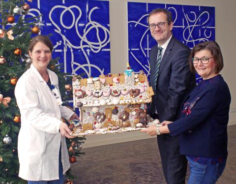 Knusperhaus für Kinderpalliativzentrum Datteln