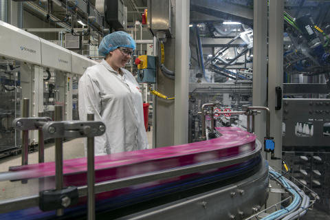 Employee at Müller's £50m Telford expansion