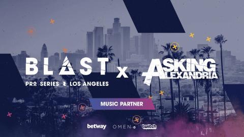 New Music Partner: BLAST Pro Series Los Angeles goes Rock n Roll!
