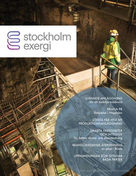Stordåhd presenterar Stockholm Exergi i en specialbilaga