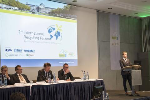 Multiport auf dem 3rd International Recycling Forum Wiesbaden