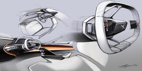 PEUGEOT FRACTAL får designpris för sin innovativa i-Cockpit