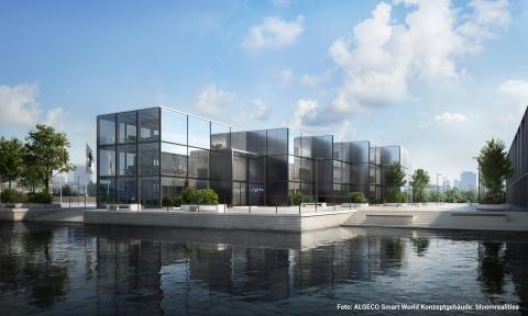 Algeco Smart World Konzeptgebäude