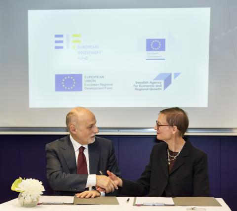 EU-investering ger nytt riskkapital till svenska företag